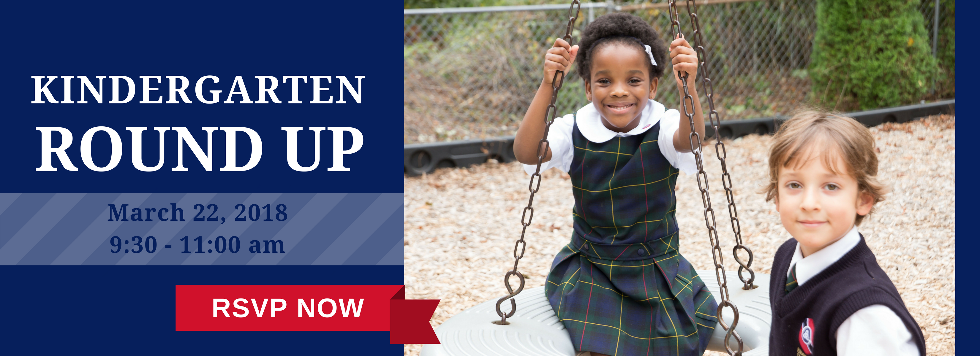 Register for our Kindergarten Round Up