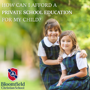 Affording a Private School Education